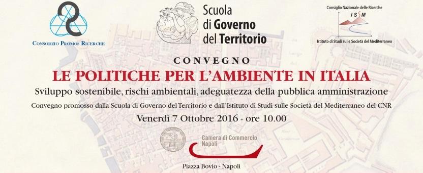 politiche per l'ambiente in Italia