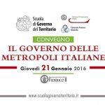 Il governo delle metropoli italiane