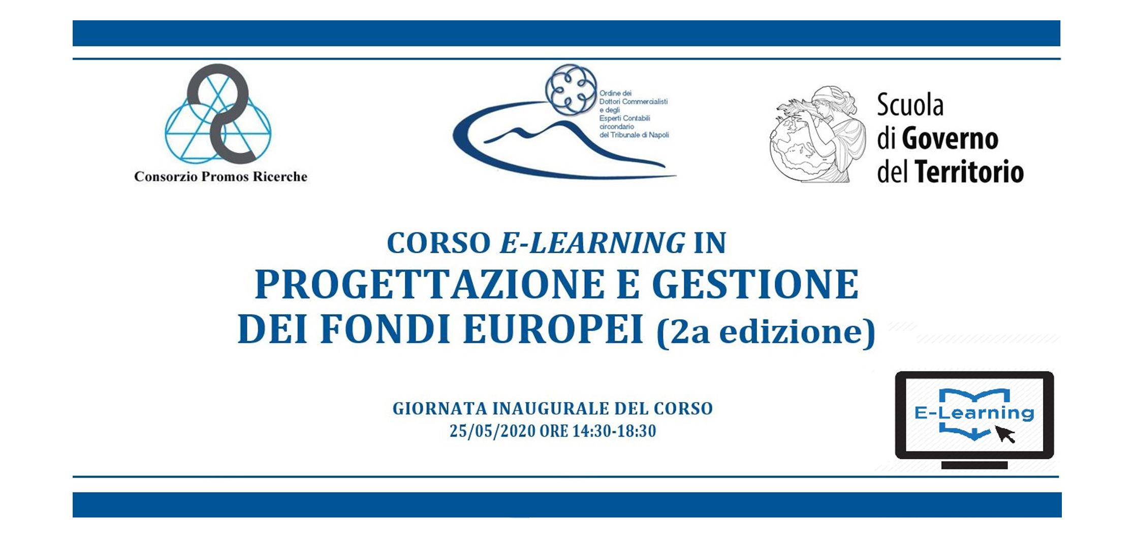 CORSO Progettazione e gestione dei fondi europei per le PMI. Comprensione e presentazione di un progetto