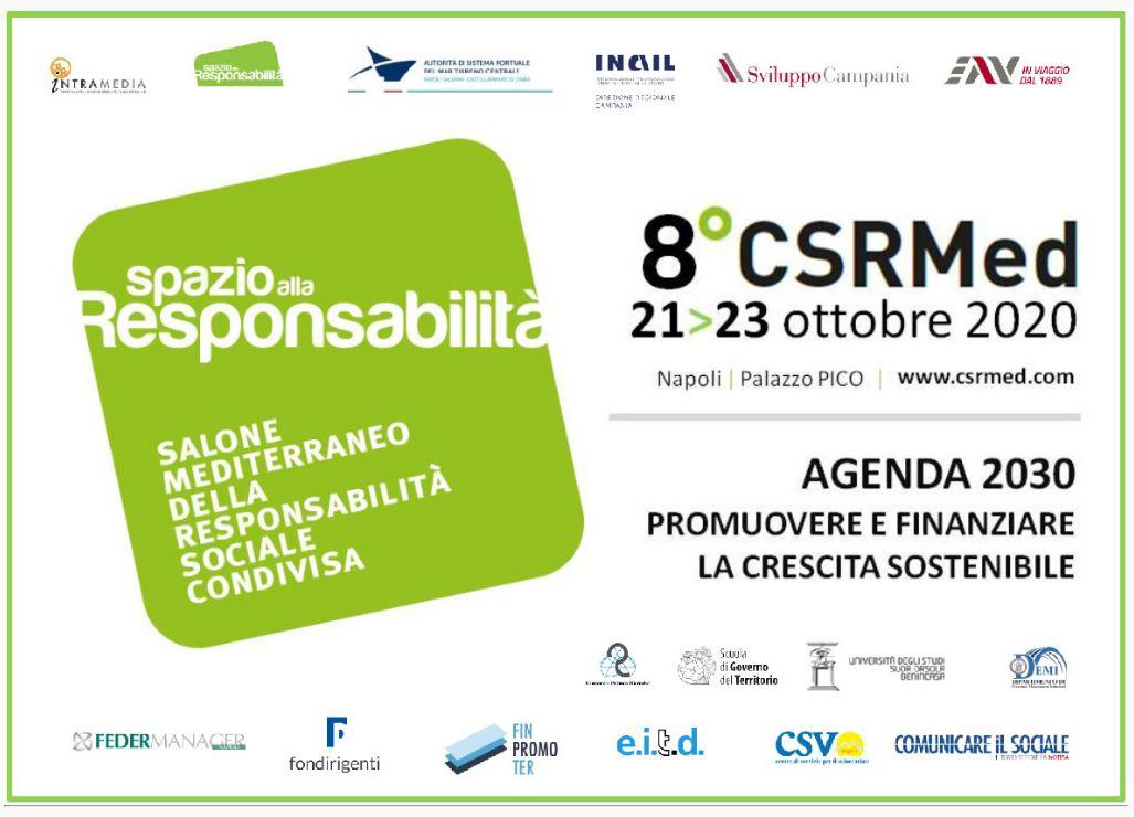 8° CSRMed, Salone Mediterraneo della Responsabilità Sociale Condivisa