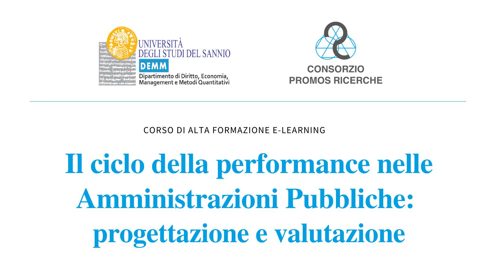 il ciclo della performance nelle amministrazioni pubbliche corso oiv