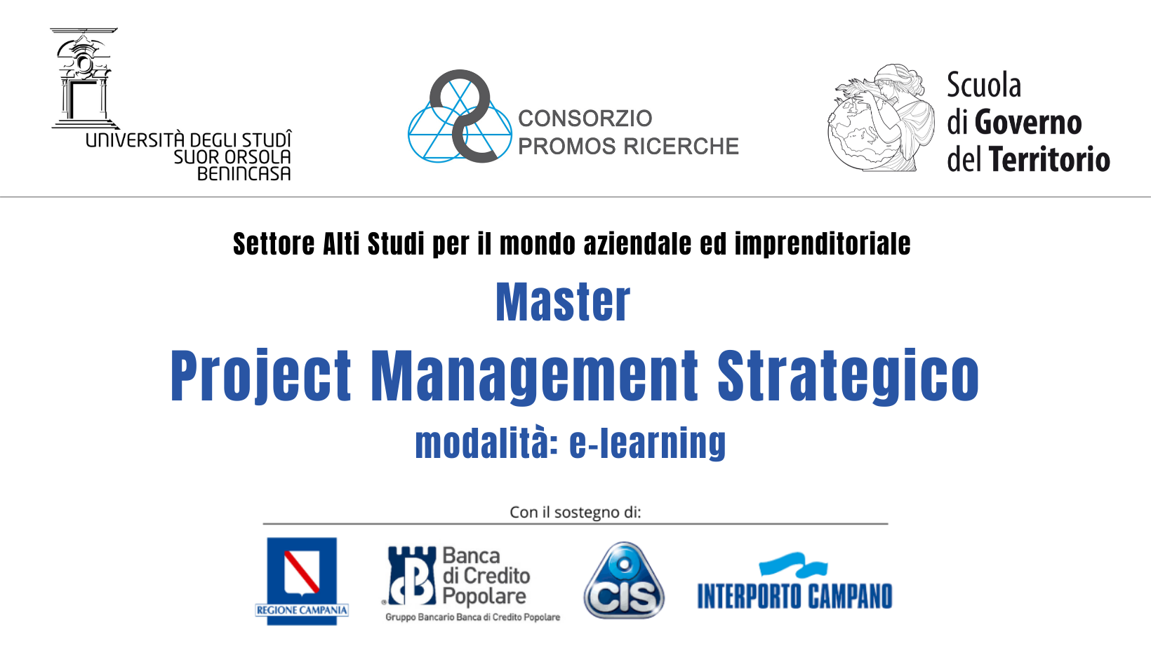 Project management strategie master per